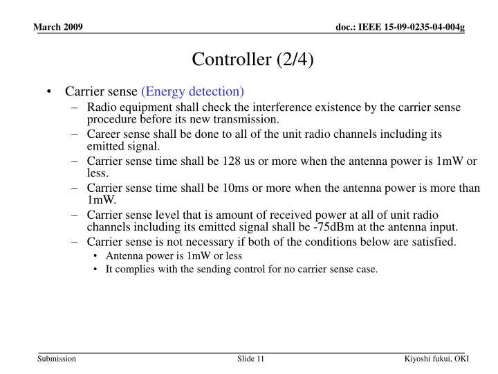 Controller (2/4)