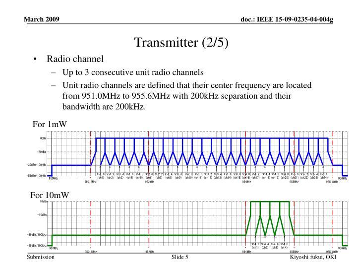 Transmitter (2/5)