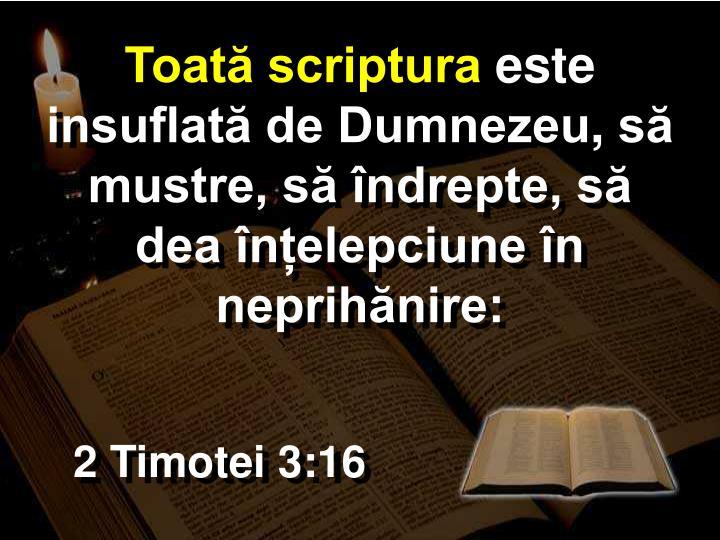 Toată scriptura