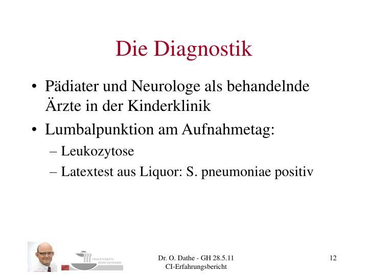 Die Diagnostik