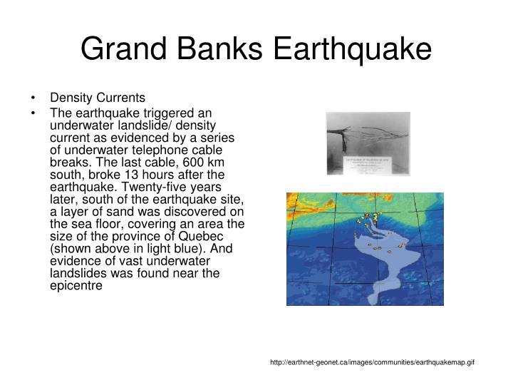 Grand Banks Earthquake