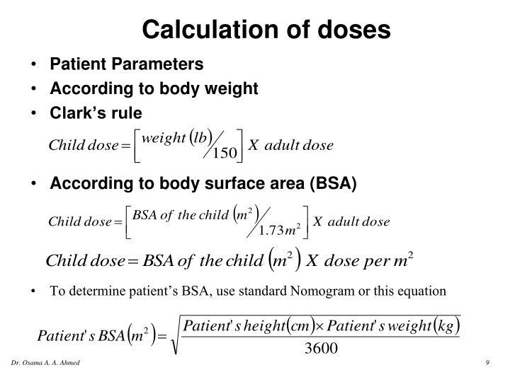 Patient Parameters
