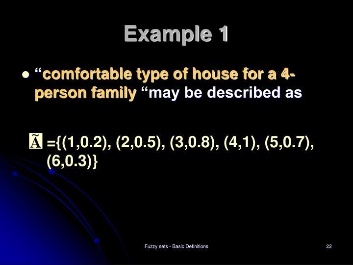 ={(1,0.2), (2,0.5), (3,0.8), (4,1), (5,0.7), (6,0.3)}