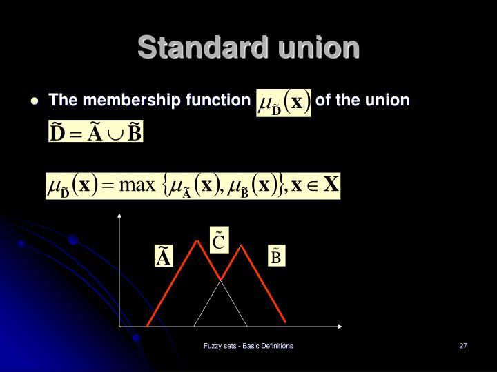 Standard union