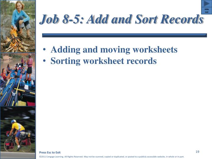Job 8-5: