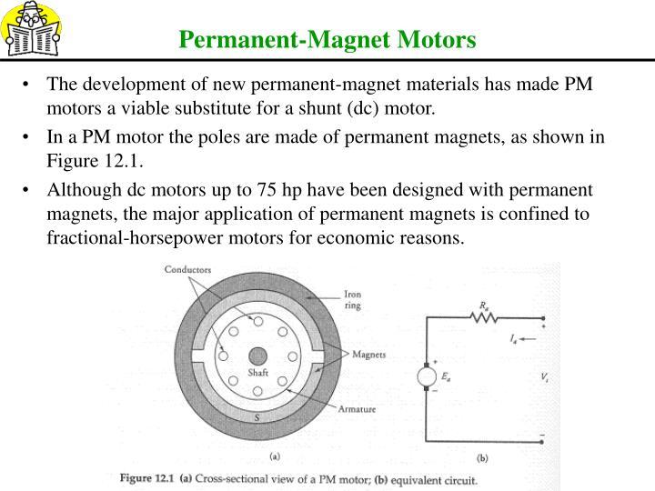 Permanent-Magnet Motors