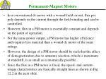 permanent magnet motors1