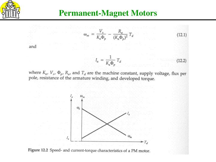 Permanent-Magnet Motors