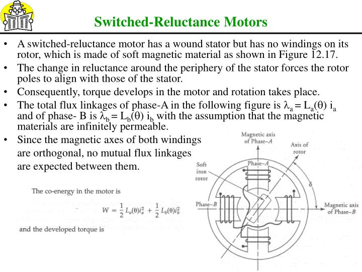 Switched-Reluctance Motors