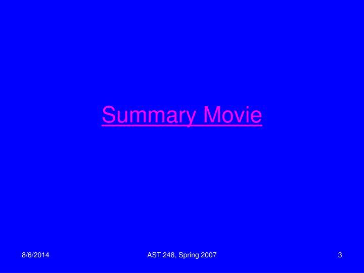 Summary Movie