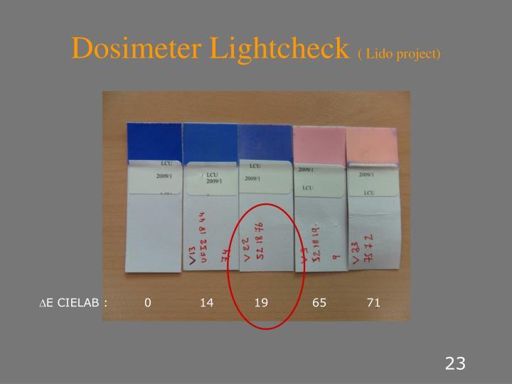 Dosimeter Lightcheck