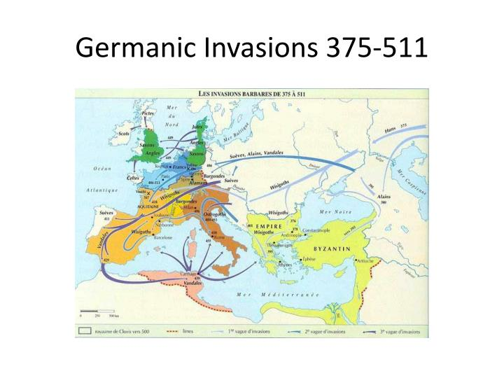 Germanic Invasions 375-511