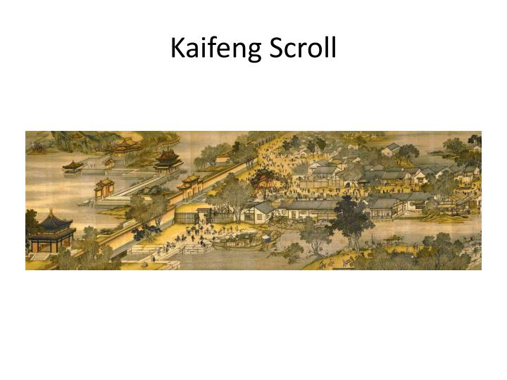 Kaifeng Scroll