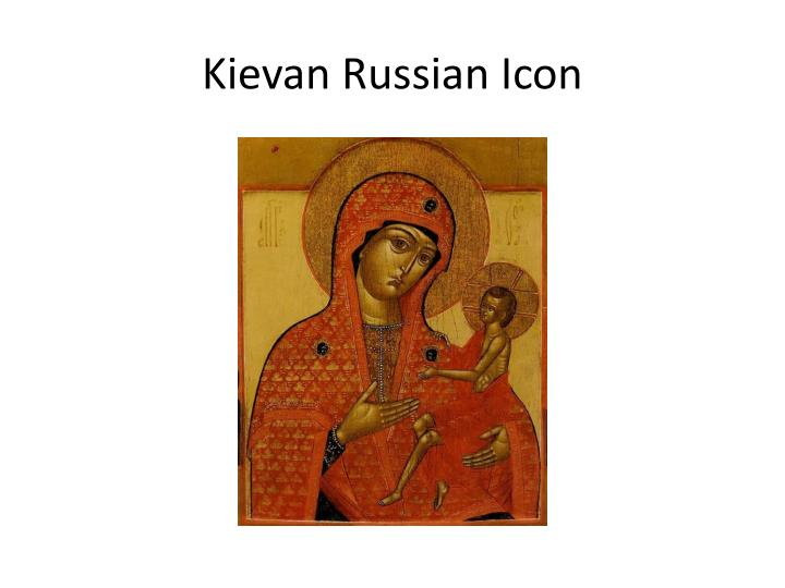 Kievan Russian Icon