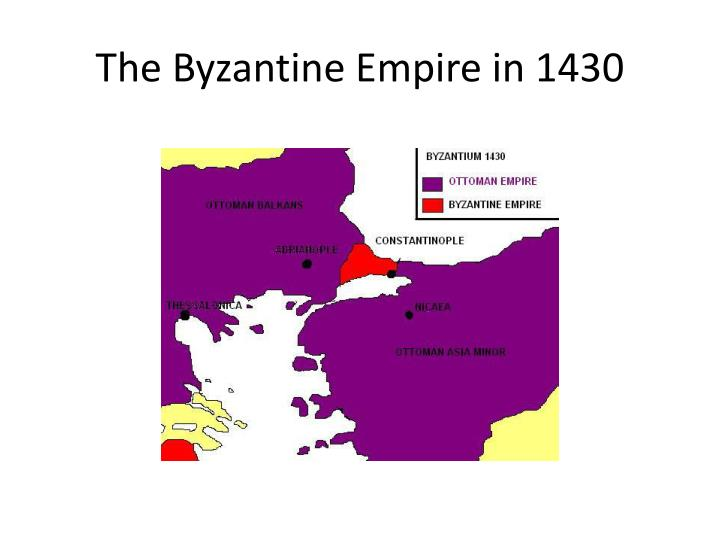 The Byzantine Empire in 1430