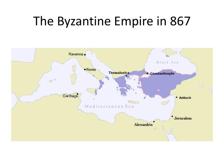 The Byzantine Empire in 867