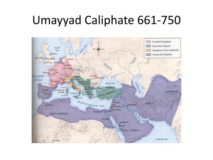 Umayyad Caliphate 661-750