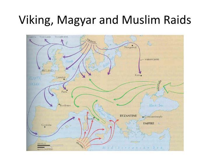 Viking, Magyar and Muslim Raids