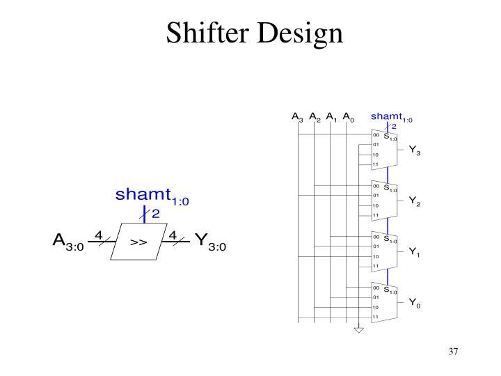 Shifter Design