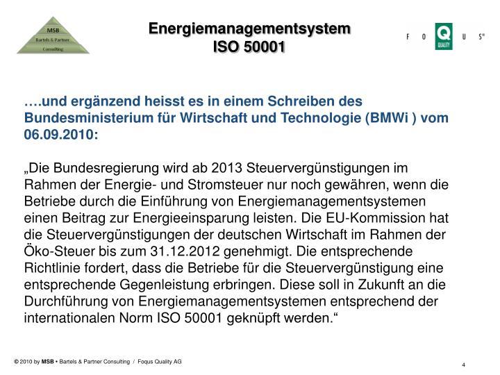 Energiemanagementsystem
