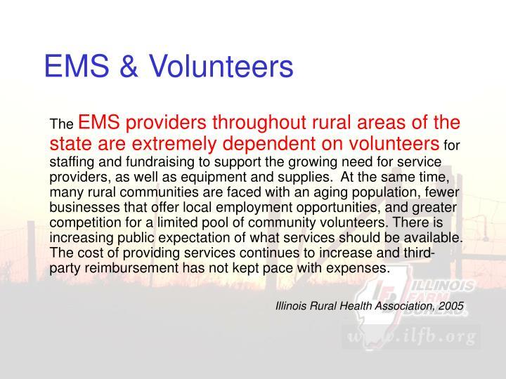 EMS & Volunteers