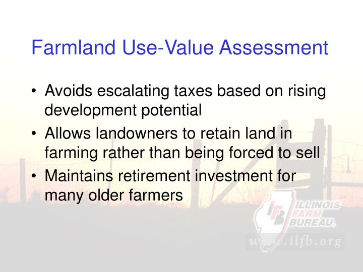 Farmland Use-Value Assessment