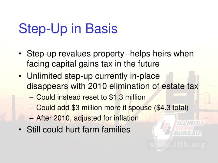 Step-Up in Basis