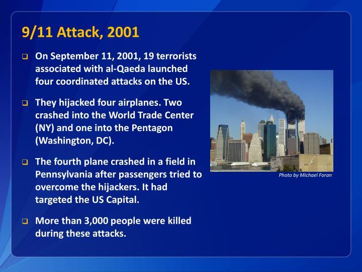 9/11 Attack, 2001