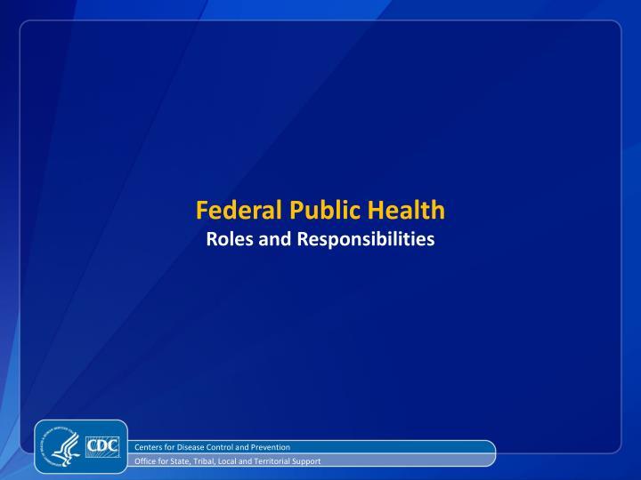 Federal Public Health