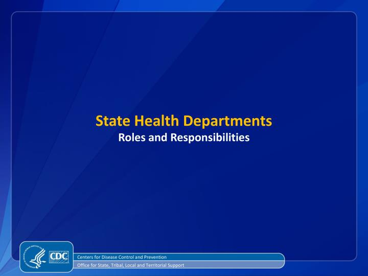 State Health Departments