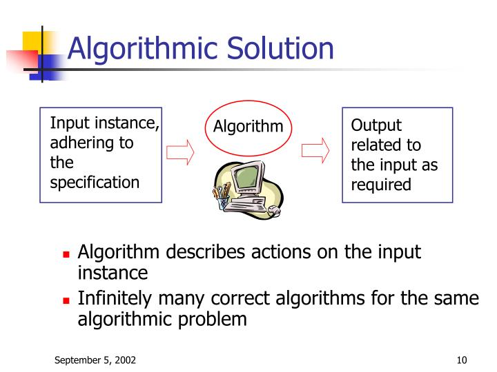 Algorithmic Solution