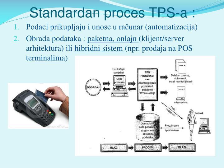 Standardan proces TPS-a :