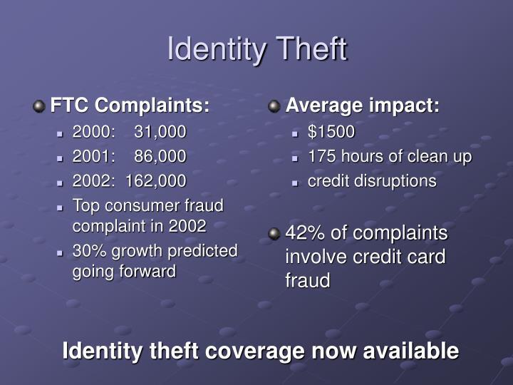FTC Complaints: