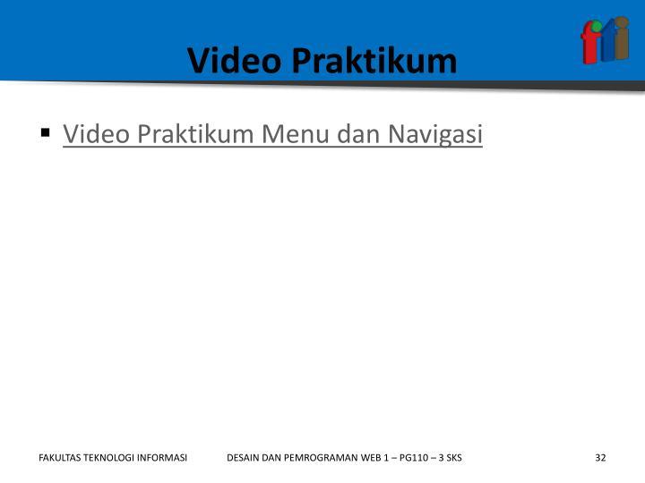 Video Praktikum