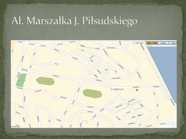 Al. Marszaka J. Pisudskiego