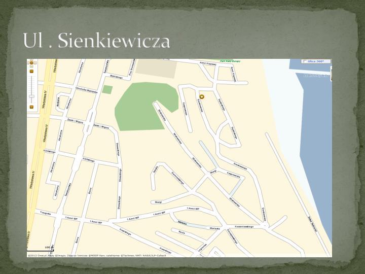 Ul . Sienkiewicza