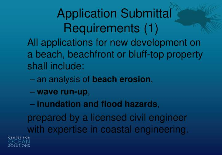 Application Submittal Requirements (1)