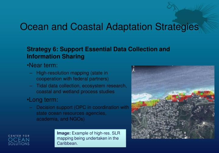 Ocean and Coastal Adaptation Strategies
