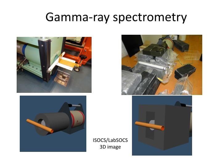 Gamma-ray spectrometry