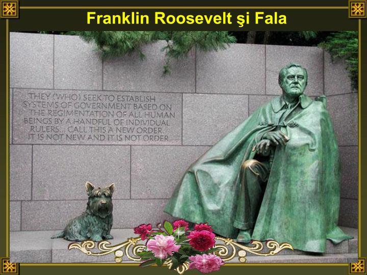 Franklin Roosevelt i Fala