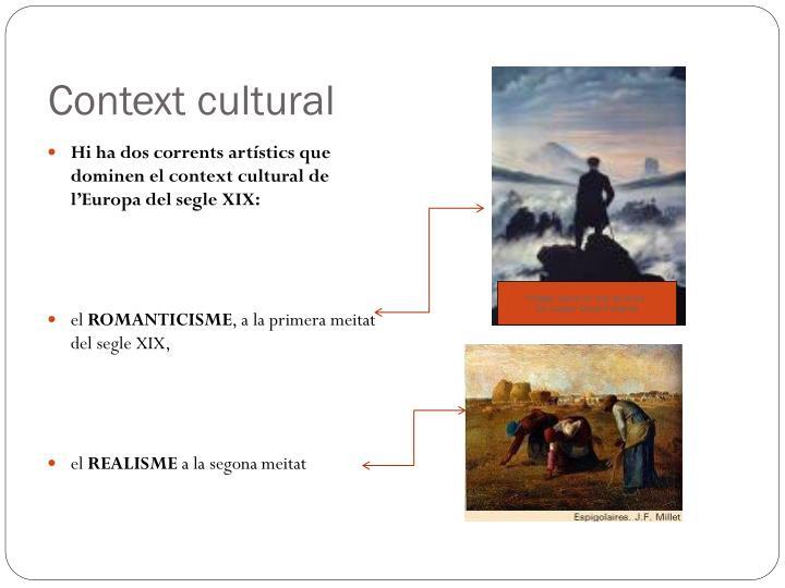 Context cultural