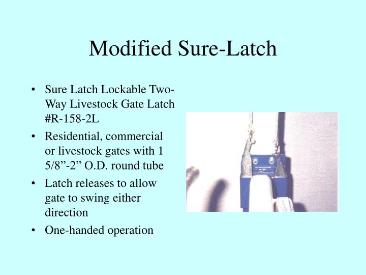 Modified Sure-Latch