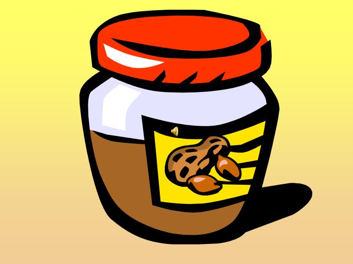 Peanut butter by dr jean powerpoint by kristina sica clip art from microsoft