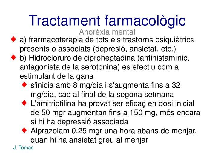 Tractament farmacològic