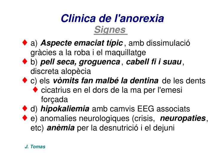 Clinica de l'anorexia