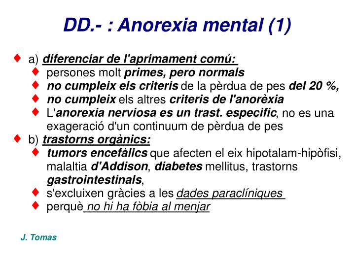 DD.- : Anorexia mental (1)