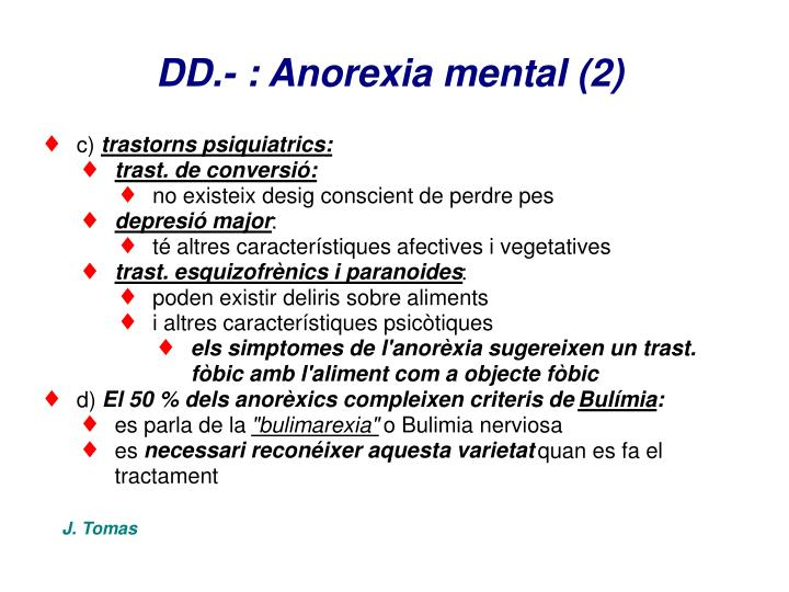 DD.- : Anorexia mental (2)