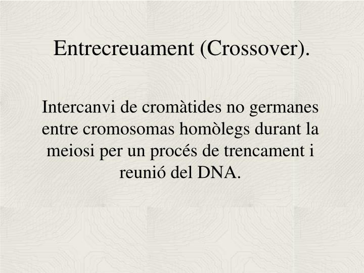 Entrecreuament (Crossover).