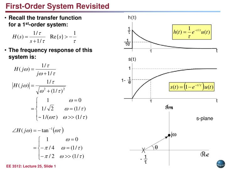 First-Order System Revisited