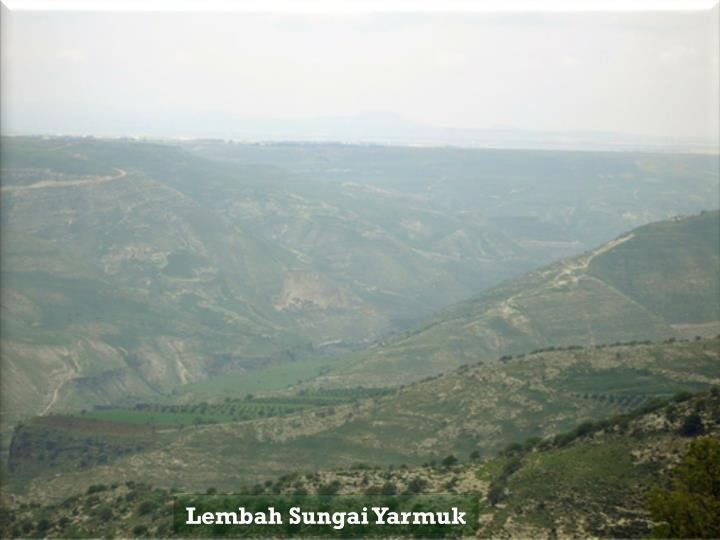 Lembah Sungai Yarmuk